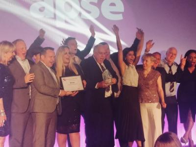 The City of Wolverhampton Council was named Council of the Year at last night's Association for Public Service Excellence (APSE) Service Awards