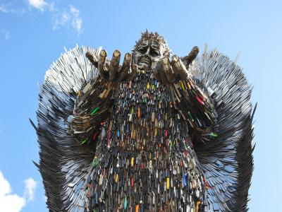 The Knife Angel will be coming to Wolverhampton later this month