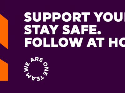 Support Your Club. Stay Safe. Follow At Home