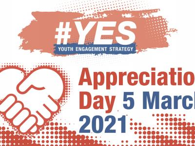 #YES Appreciation Day - Friday 5 March 2021
