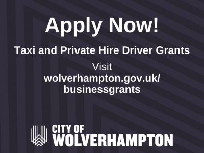 New business support grant for taxi and private hire drivers