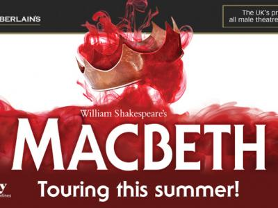 Open air theatre returns to Wolverhampton in late summer with a thrilling and powerful production of Shakespeare's Macbeth at Bantock House Museum and Park