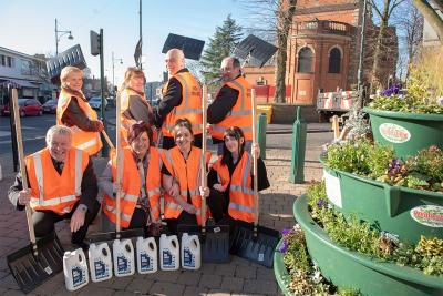 Wednesfield High Street volunteers