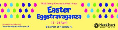 HeadStart Wolverhampton will be laying on some free family fun during the Easter holidays, with 5 events at locations around the city