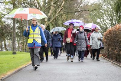 Come rain or shine, the Walking for Health walk at Bantock Park is guaranteed a good turnout