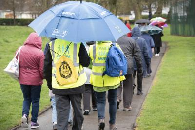 The community and voluntary sector led Walking for Health group organises a regular programme of walks lasting from between 15 and 90 minutes and taking place in different parts of the city, including Ashmore Park, Bantock Park, Penn, Dixon Street Park, Heath Town, Himley and Baggeridge, Pendeford, Perton, Phoenix Park, Springvale Park, Tettenhall and West Park