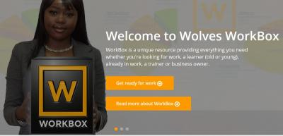 The wealth of information available on Wolves WorkBox was showcased, including the live local vacancies page, which lists all current apprenticeship opportunities available in the city