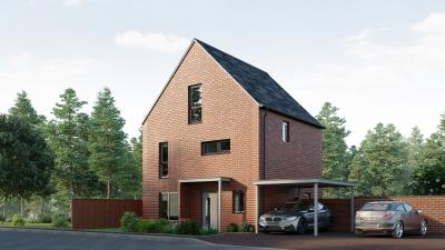 Artist impression of one of the homes that will be available: Beech – 4 bed detached house