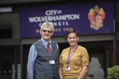 The City of Wolverhampton Council's Head of School Improvement Amanda Newbold and Citizenship Language and Learning Senior Advisor Mark Smith visited Ethiopia to assess the impact of a Comic Relief funded project to improve literacy among young children