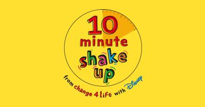 10 minute shake up campaign