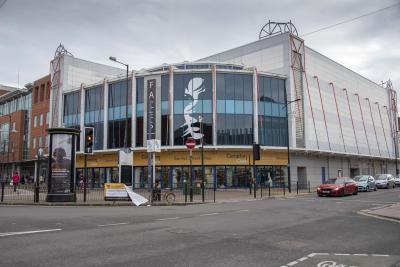 Former Faces nightclub building progresses (Early 2019)