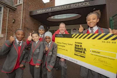 The council awarded the school with the £100 Enjoy Wolverhampton gift card for the successful report