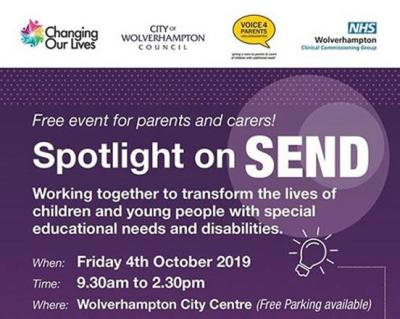 Still time to book places at event to turn Spotlight on SEND