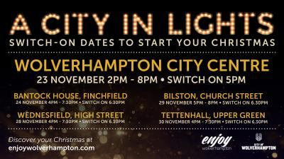 City lights switch-ons to start Christmas countdown