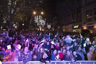 The city centre switch-on will take place in Queen Square on Saturday, 23 November, from 2pm until 8pm. Get set for a host of entertainment that you will not want to miss