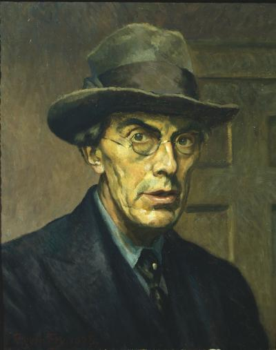 Roger Fry, Self Portrait, 1928. © Courtauld Trust, The Courtauld Gallery, London