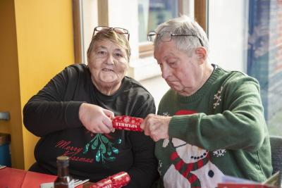 Carers and the people they care for enjoyed a festive treat with the Carer Support Team