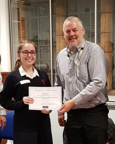 Elizabeth named Wolverhampton's first Young Poet Laureate