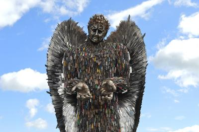 The Knife Angel will be coming to Wolverhampton in April