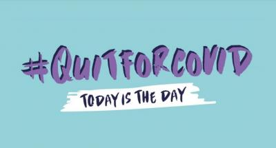 Today is the Day to #QuitforCovid