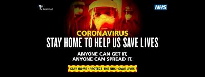 Act Like You've Got It, Anyone Can Spread It – that's the message of a new, hard hitting Government campaign that urges people of all ages to take the risks of coronavirus seriously