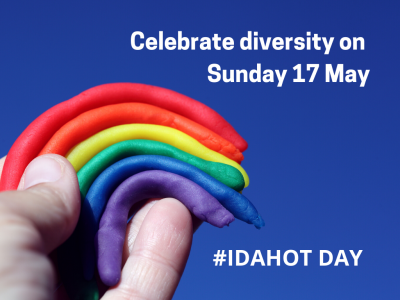 Council to mark #IDAHOT - International Day Against Homophobia, Transphobia and Biphobia