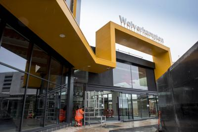 Phase 1 of the new Wolverhampton railway station as final preparations are made for opening