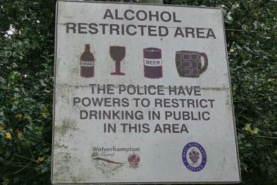 Alcohol Restricted Areas
