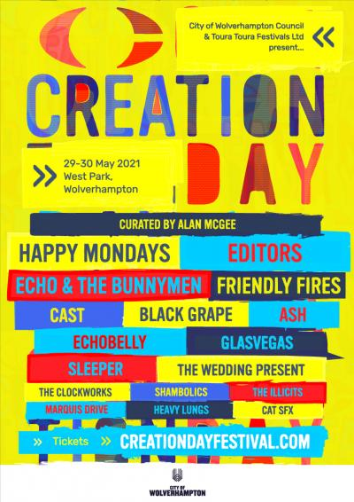 Creation Day festival: Tickets now on sale