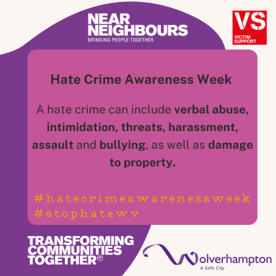 Hate Crime Awareness Week