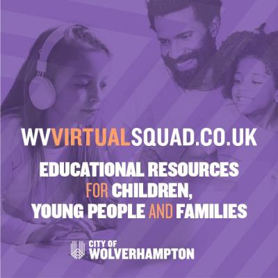 WV Holiday Squad is back this October half term as WV Virtual Squad –offering children, young people and families a wide range of online activities and events they can enjoy from home