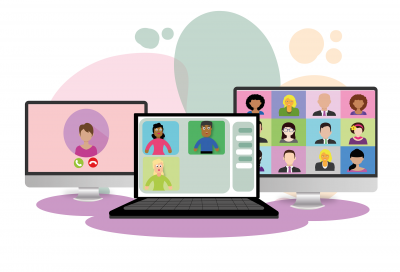 Social workers come together virtually to share best practice