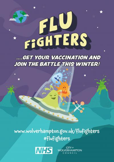 People are being encouraged to become Flu Fighters this winter