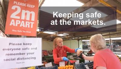 Keeping safe at the Markets