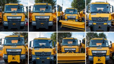 City of Wolverhampton Council is inviting residents to come up with names for the city's brand new fleet of gritting lorries