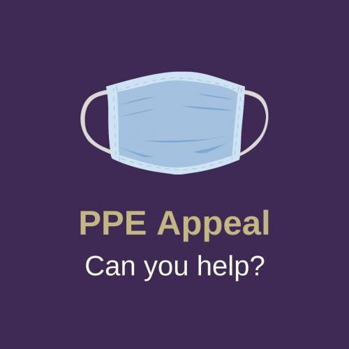 Appeal for personal protective equipment (PPE)