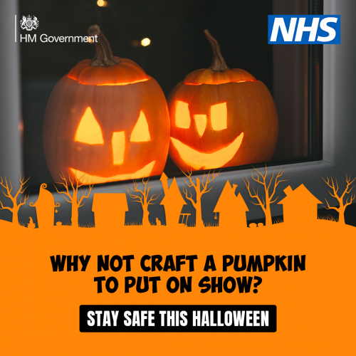 Halloween celebrations will need to be a little different this year because of the coronavirus pandemic – and health chiefs are urging people to take extra care