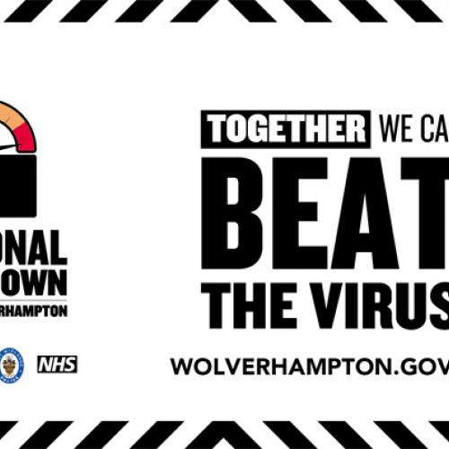 Together we can beat the virus